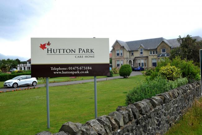 Hutton Park care home, Largs