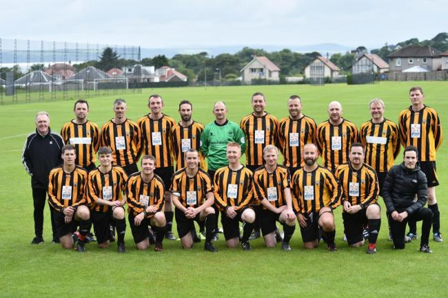Thistle over 35s end first season  with thriller