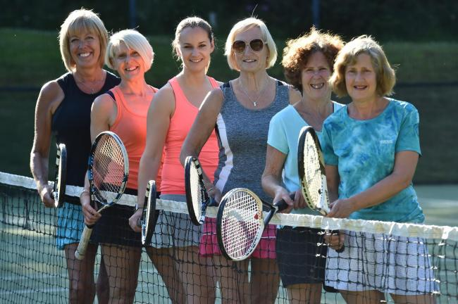 Largs tennis ladies in ace form in Ayrshire League