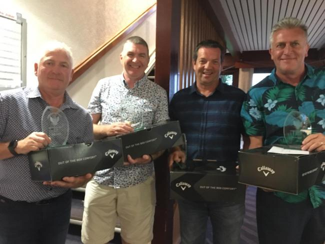 Largs Golf Club Pro Day competition winners