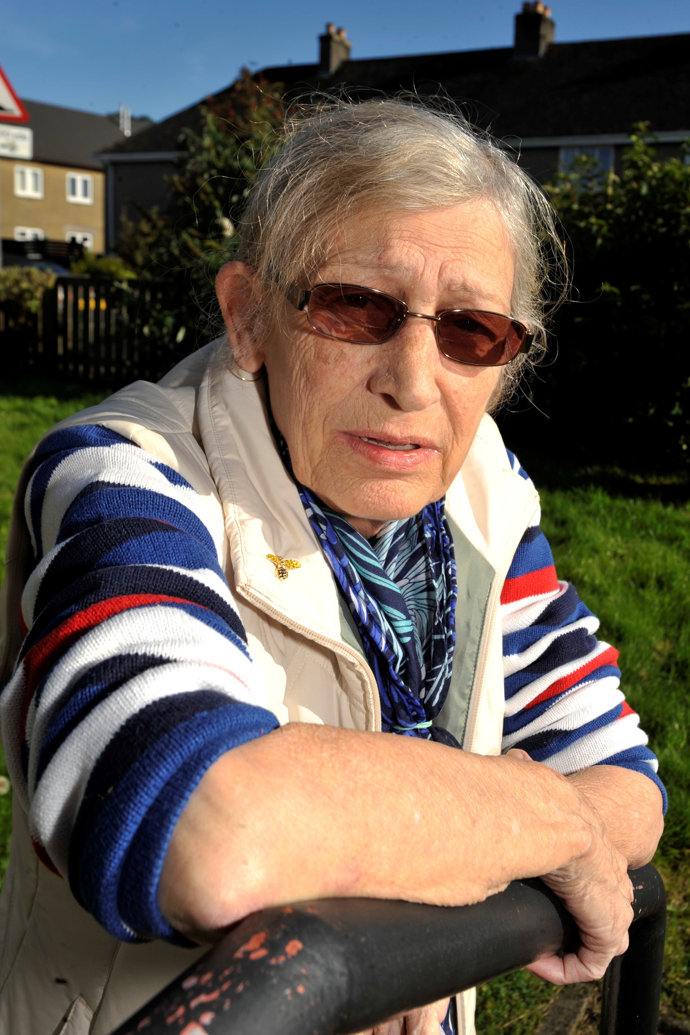 Largs pensioner vows to 'chain herself to site' in 40ft biomass chimney protest