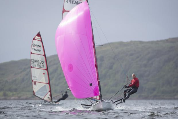 Largs sailor leads the way in National Championship
