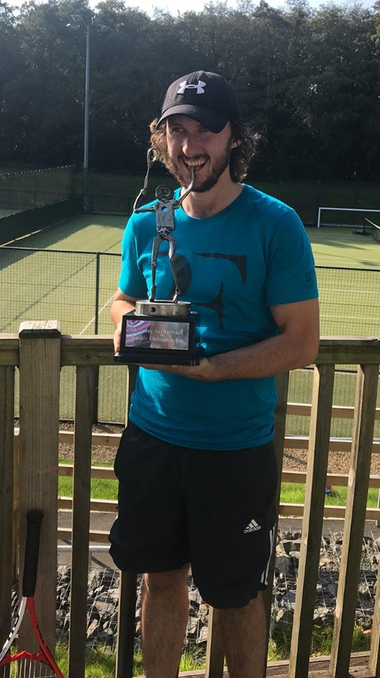 Tennis ace comes out on top