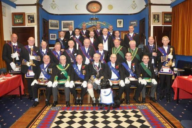 Largs Masons tell how they 'need to reinvent' themselves to flourish