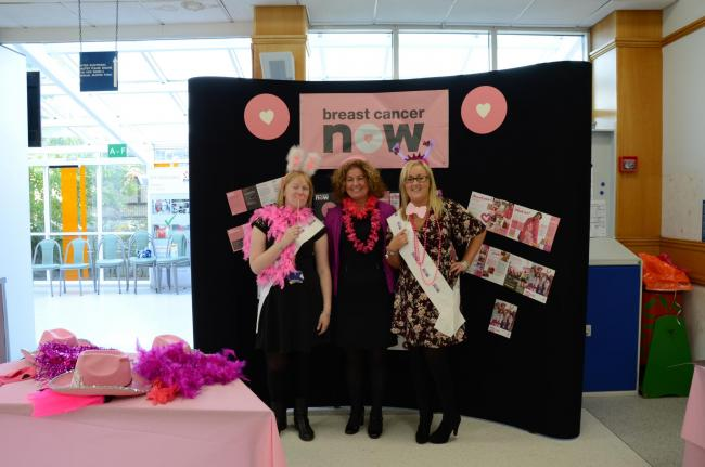 Raising awareness of Breast Cancer Now's work at Hunterston B