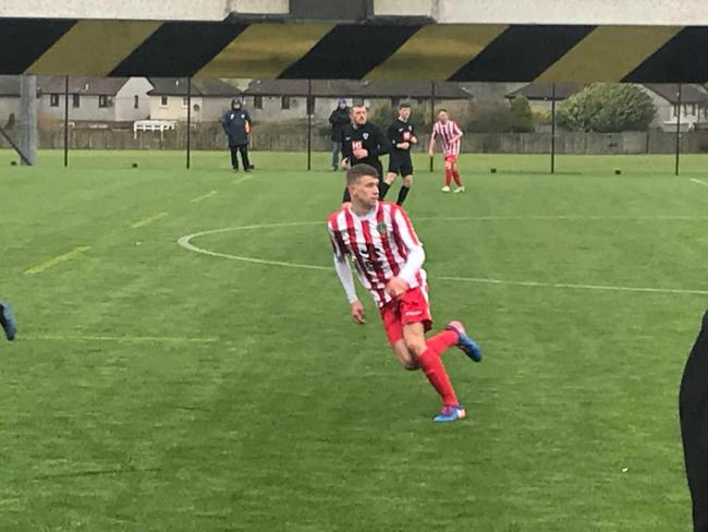 Will Sewell stars in Thistle's 4-0 rout over Muirkirk