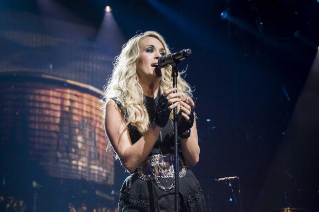 Carrie Underwood Reveals Her Family Hid In Safe Room During