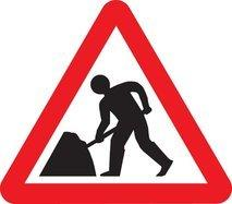 Roadworks in Millport