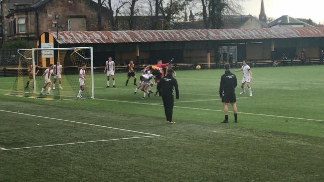 Largs Thistle back with a bang in fiery Clydebank clash