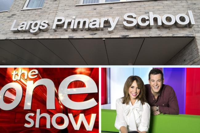 Talented Largs pupil to star on The One Show