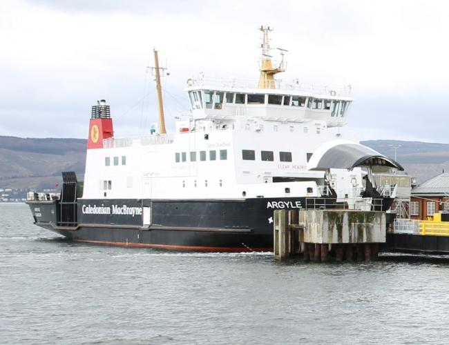 Wemyss Bay ferry cancelled all day