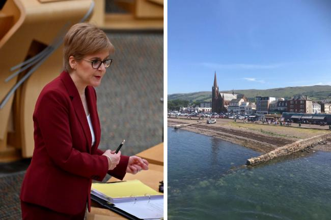 First Minister confirms North Ayrshire restriction level