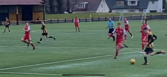 Feisty clash as Largs and Beith  in pre Christmas cracker