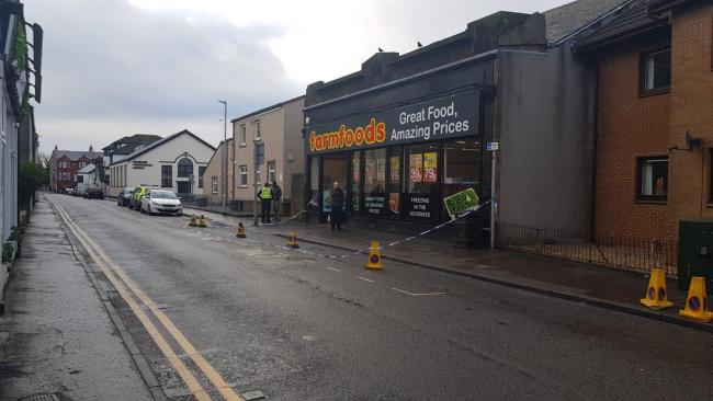 Police investigate robbery at Largs Farmfoods