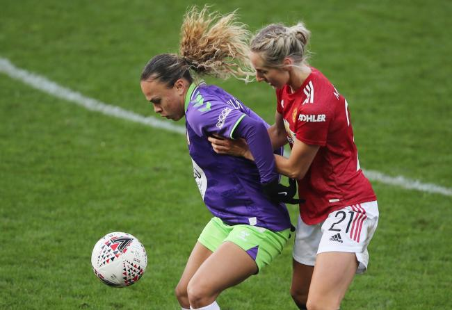 Ebony Salmon in action for Bristol City (Action Images via Reuters/Molly Darlington)