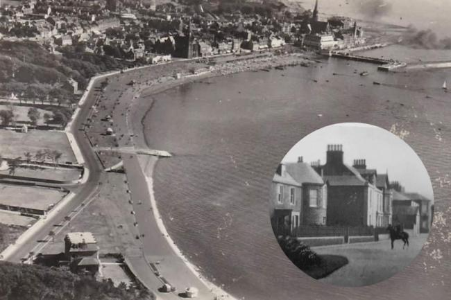 Largs History Group: Stunning aerial shot of town in pictures of the week