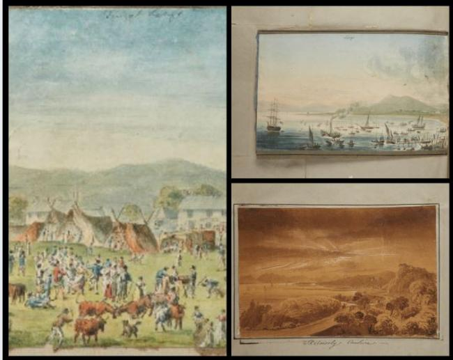 Rare drawings of 18th century Largs and Skelmorlie to be auctioned