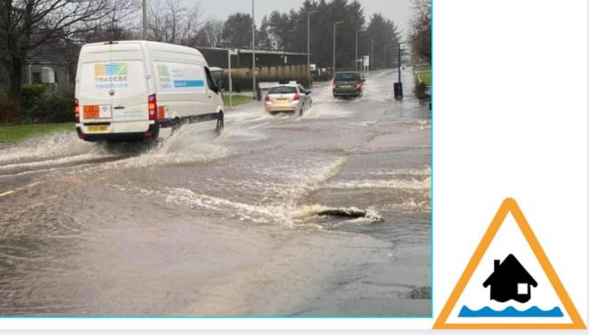 Ayrshire wide flood warning issued by SEPA