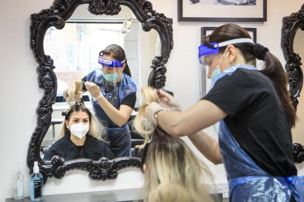 Largs and Millport Weekly News: Hairdresser