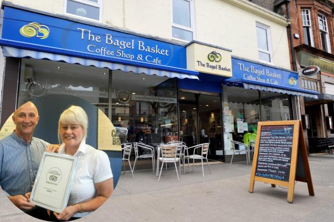 Bagel Basket look forward to better days with re-opening