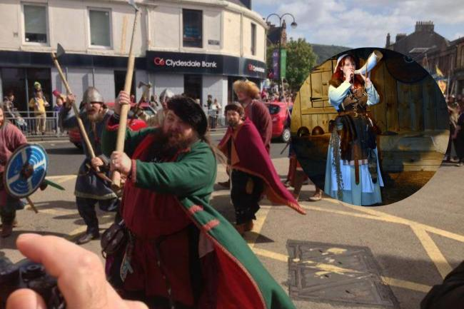 Viking Festival set to feature on BBC Alba channel