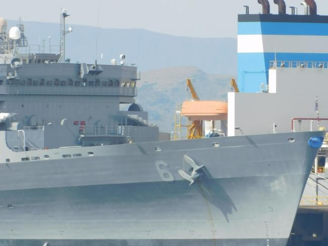 Hunterston Port hosting vessels in NATO Exercise Strike Warrior