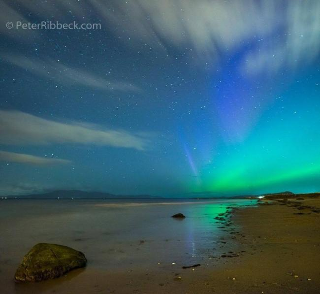 Peter Ribbeck captured this magnificent image at Seamill