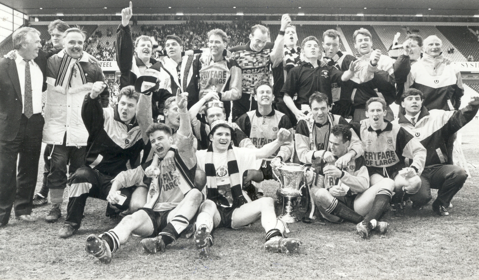 Thistle won the cup against Glens 25 years ago this week!