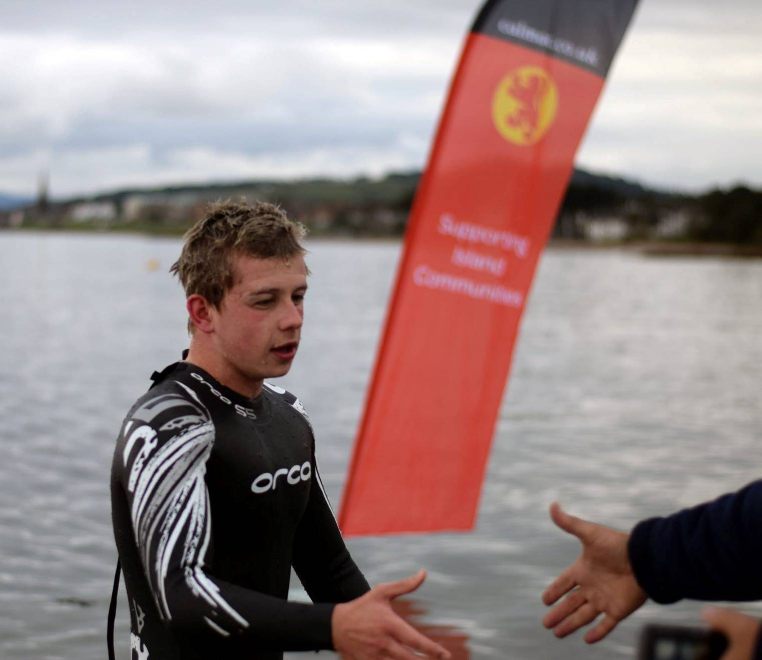 Get ready for Saltire swim from Cumbrae to Largs!