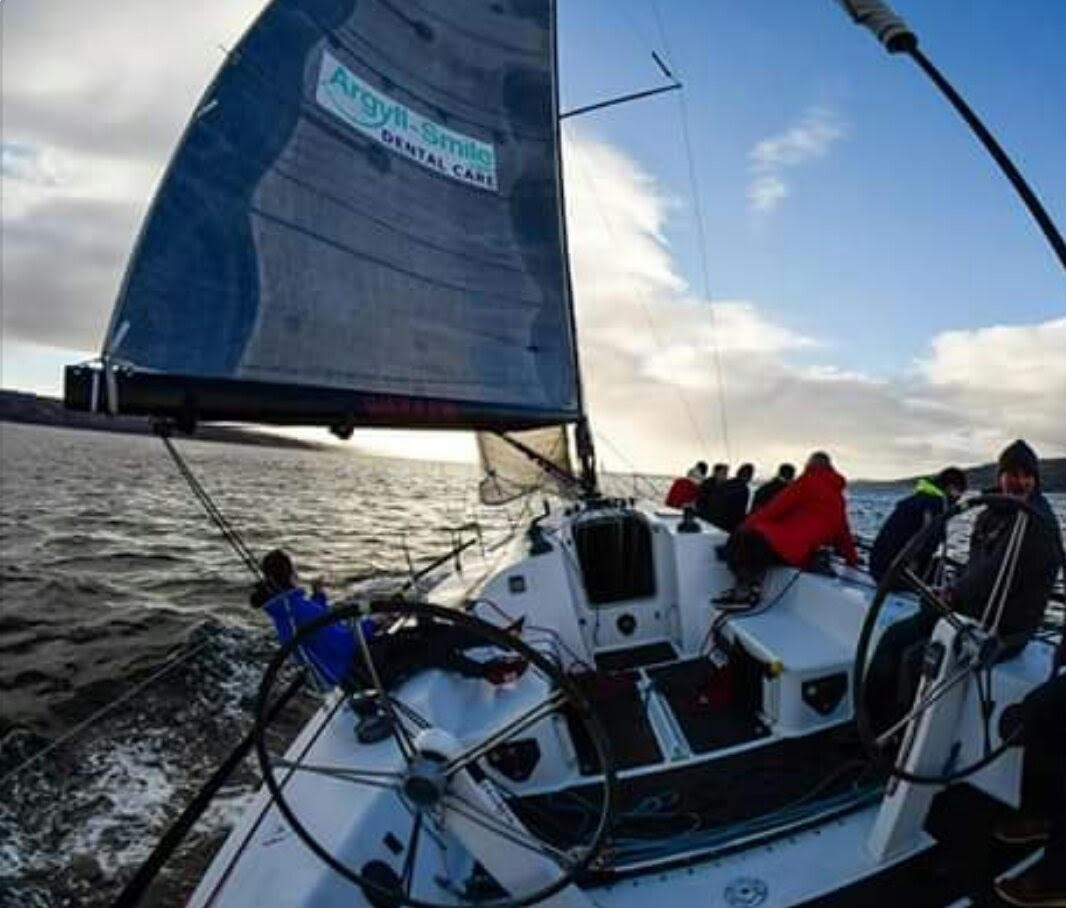 New Year Races for Fairlie Yacht Club