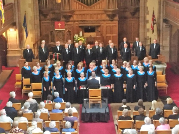 Largs concert success on Sunday