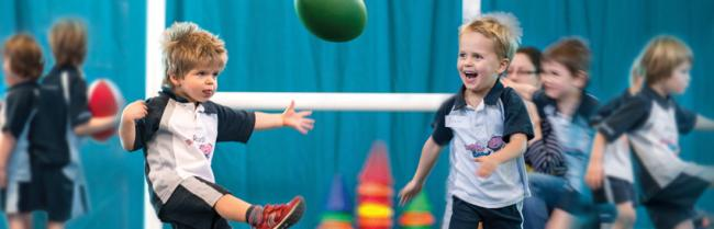 Rugbytots class is coming to Wemyss Bay