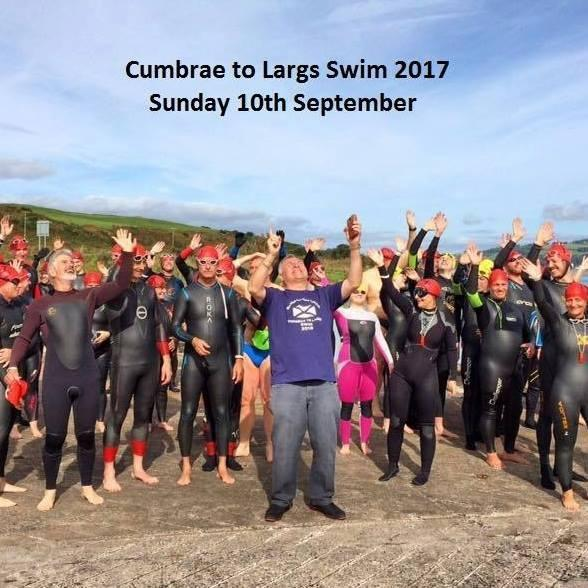 Attention all swimmers taking part in Cumbrae-Largs swim