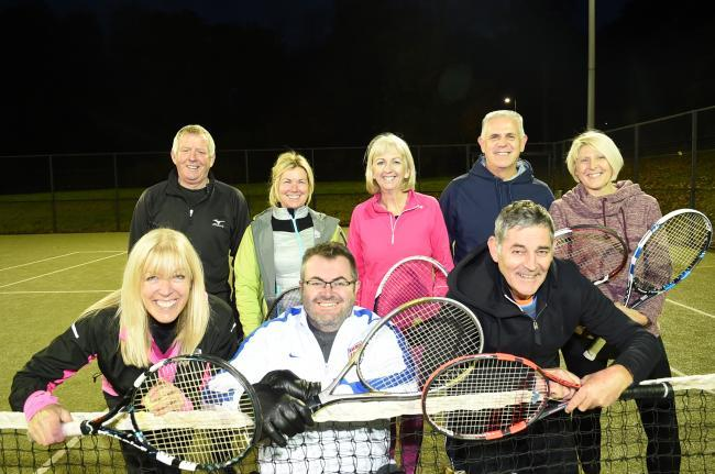 Largs tennis season starts early with Murray Cup