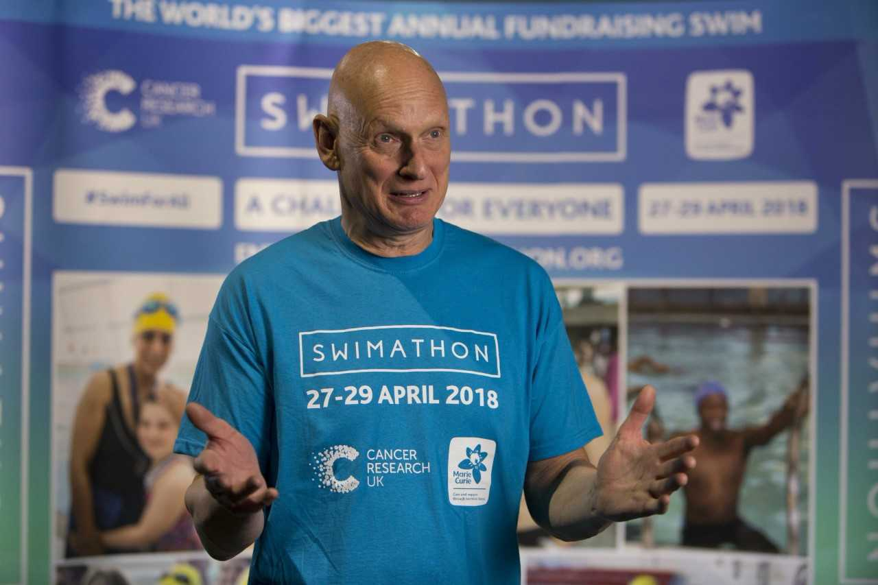 Olympic legend Duncan Goodhew is backing Swimathon.