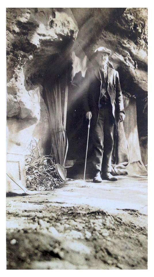 The amazing story of Millport man who lived in a cave in the 1920s
