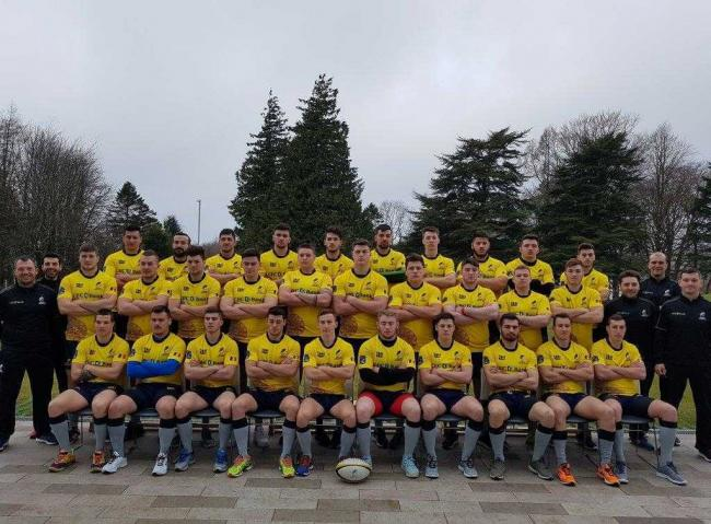 International visit ... Romanian rugby youths at Inverclyde.
