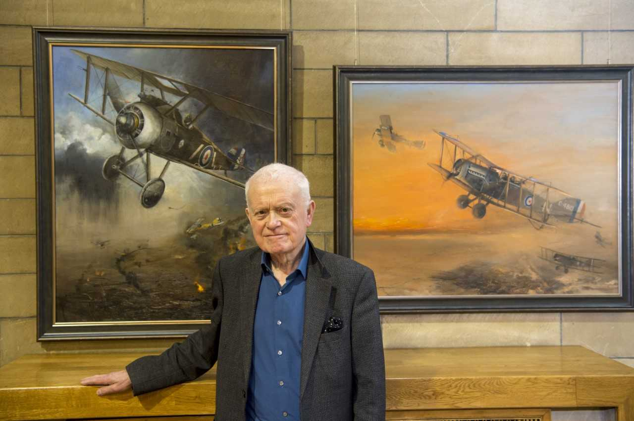 Skelmorlie artist's exhibition to celebrate RAF centenary