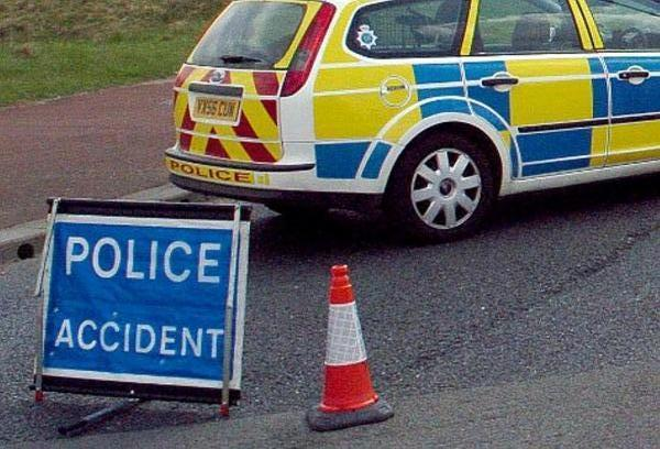 Road accident on the A760