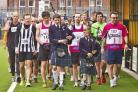 Largs Fun Run celebrated its 30th anniversary in 2014 with the skirl of the bagpipes to see off the runners.