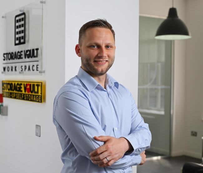 Brian Gifford, Property & Finance Director who leads the team at Storage Vault Work Space