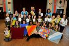 1st Largs Brownies show their compassionate side for charity