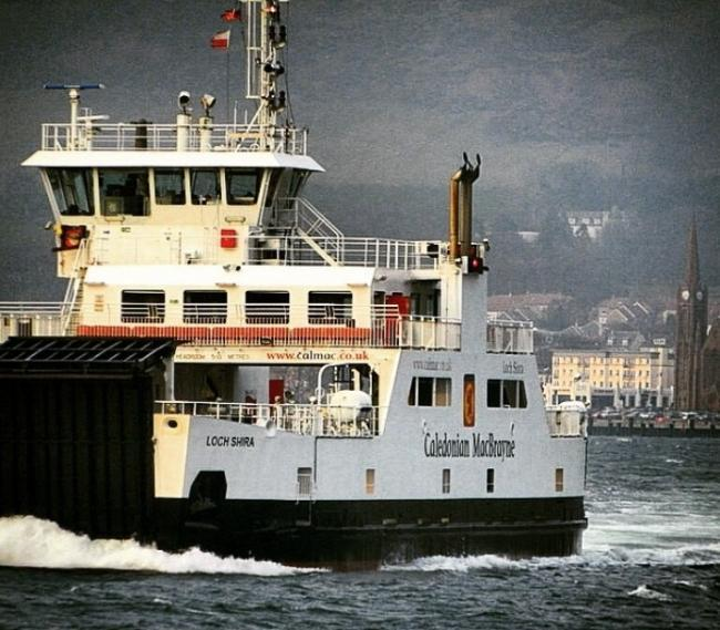 Cal Mac ferry wind warning for Cumbrae