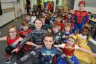 Superhero day at St Mary's Primary in Largs