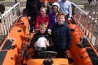 Largs Lifeboat fundraising toddle on Bank Holiday Monday