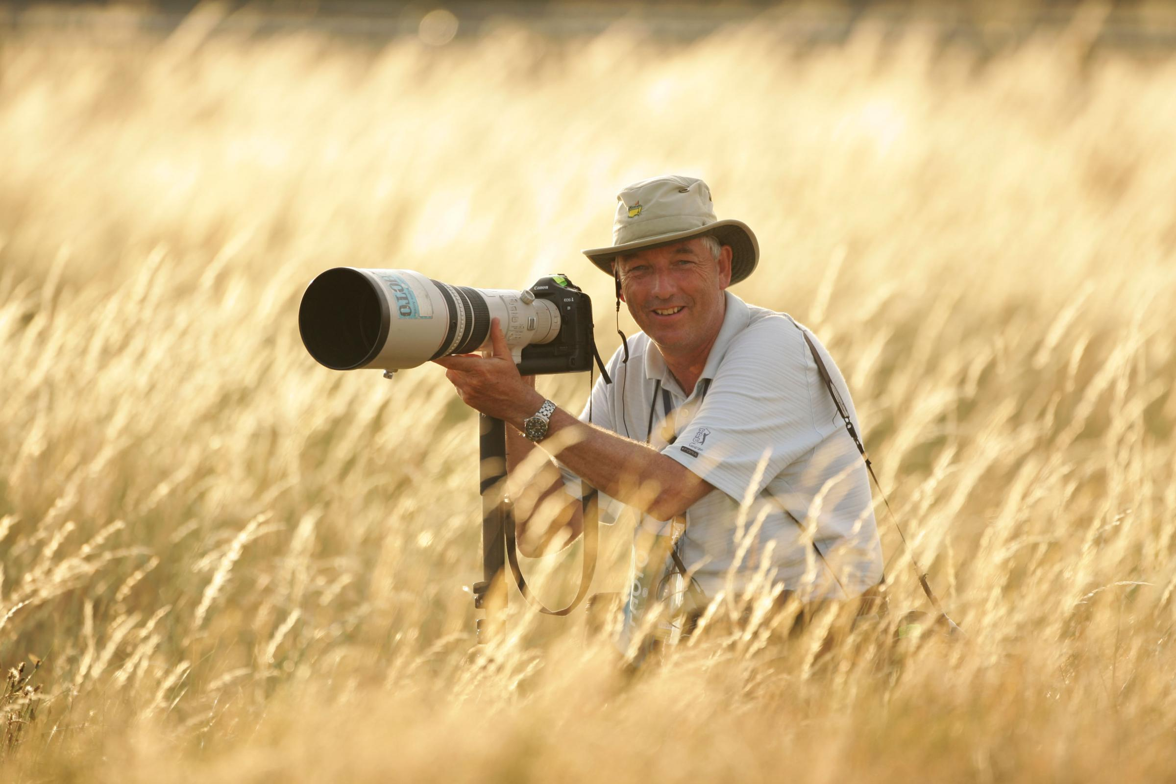 Interview: David Cannon, the world's no.1 golf photographer