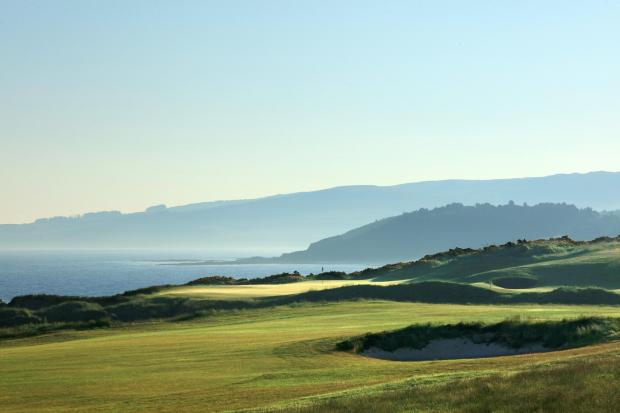 Largs and Millport Weekly News: King Robert the Bruce, 9th Hole