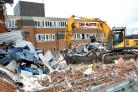 Demolishing works at Largs Academy and Kelburn Primary