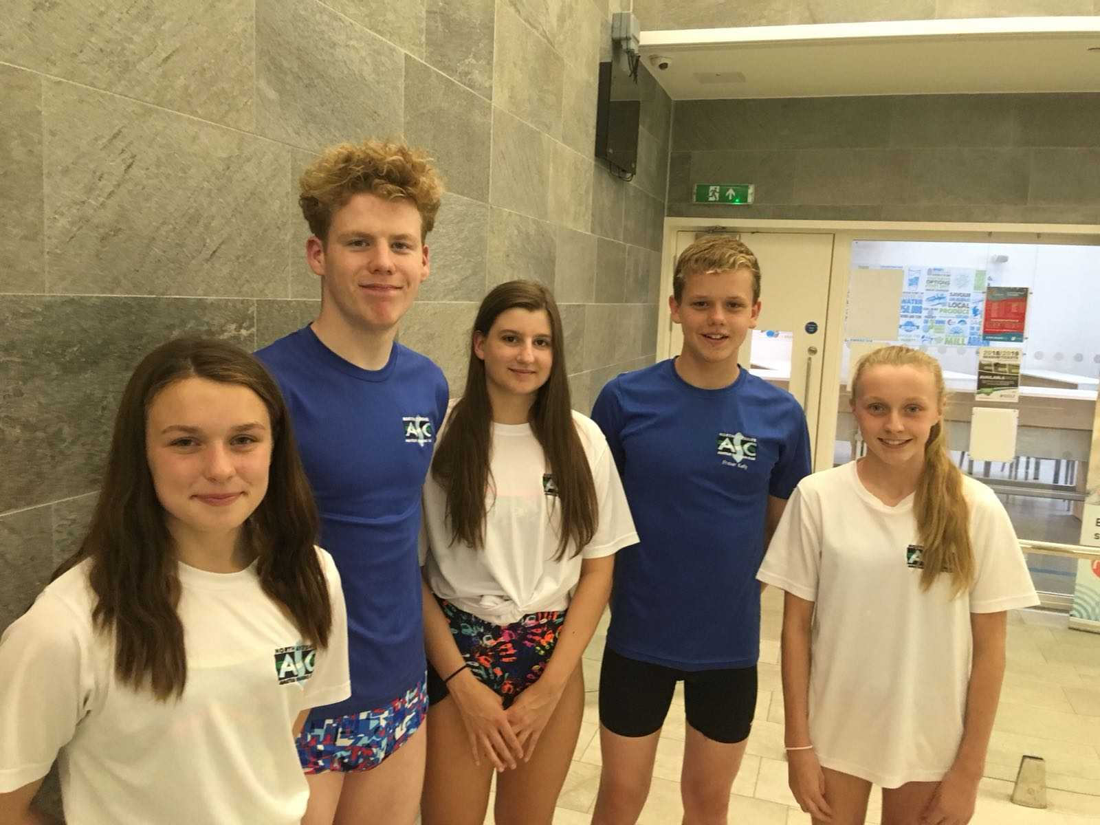 Largs swimmers shine and set to make a splash at British Championships