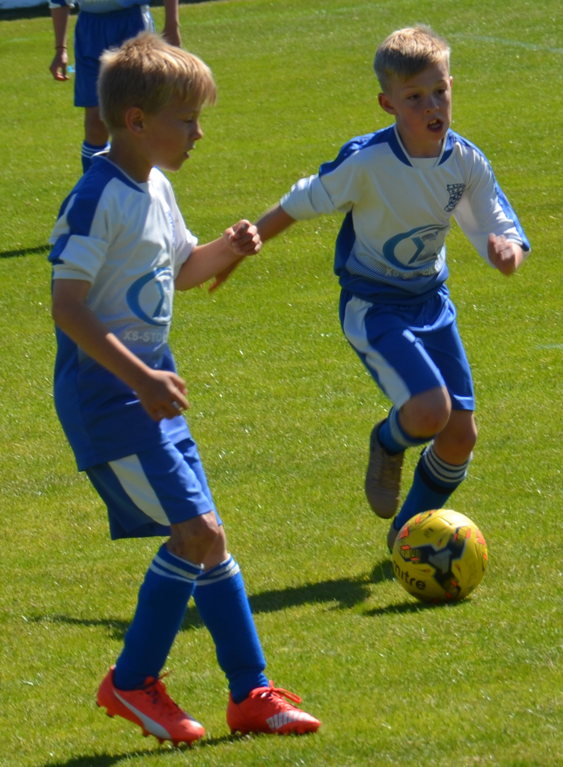 Largs Colts in action in tournament